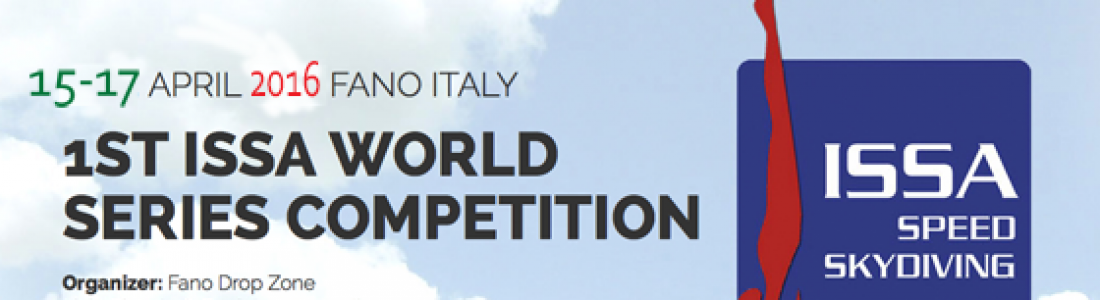 15-17 APRIL – 1st ISSA WORLD SERIES COMPETITION