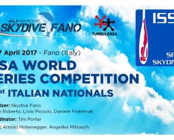 ISSA WORLD SERIES COMPETITION DAL 14-17 APRILE