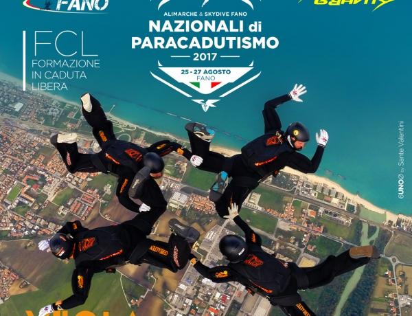 NAZIONALI DI PARACADUTISMO 2017 – Dal 25 al 27 Agosto
