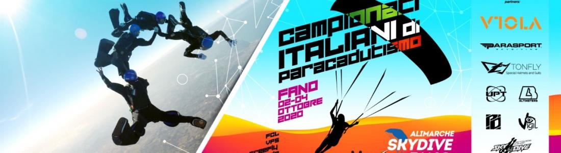 CAMPIONATI ITALIANI DI PARACADUTISMO
